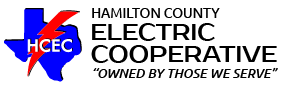 Hamilton County Electric Cooperative mobile logo